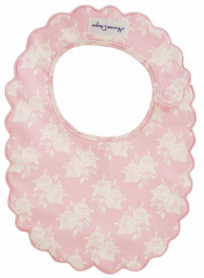 Bib-AlimRose Design-Scallop Bib-Pink Rose-N5123PR.jpg